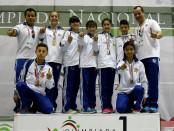 Baja California con tres oros en la jornada de judo Juvenil Menor
